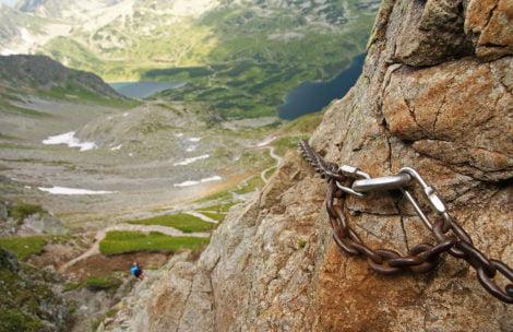 Sztuczne ułatwienia w polskich Tatrach – miejsca występowania