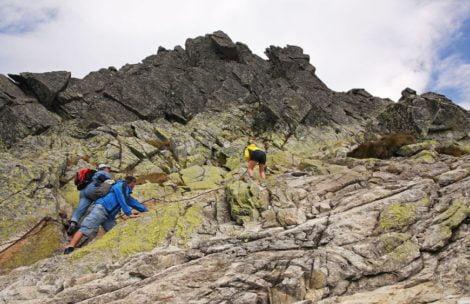 Propozycja wycieczki: Na Świnicę od Świnickiej Przełęczy