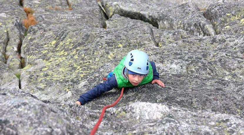 Najmłodszy zdobywca Mnicha! 7-letni Alex wszedł na szczyt z tatą