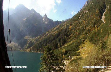 Piękna pogoda w Tatrach