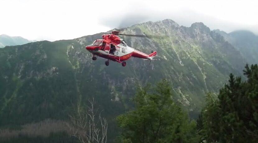 Akcja TOPR na szlaku przez Świstówkę (film)