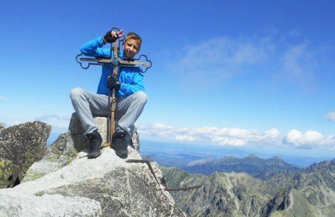 15-letni Kacper Bąba zdobył Wielką Koronę Tatr