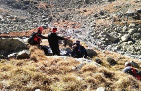 Tragiczna niedziela w Tatrach. Dwa śmiertelne wypadki