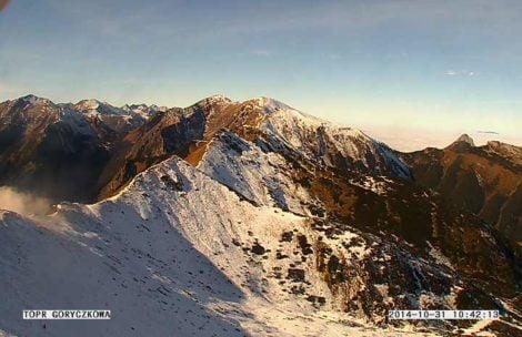 W Tatrach piękne słońce, w Zakopanem szaro (ZDJĘCIA)