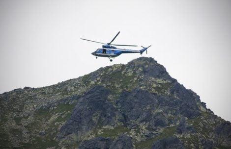 Poszukiwania turystów w Tatrach