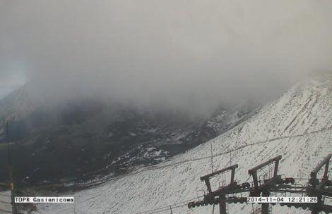 Halny szaleje w Tatrach, ponad 100 km/h. Będzie jeszcze gorzej