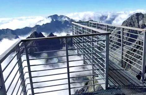 Morze chmur pod stopami…Niesamowite widoki z Łomnicy (film)