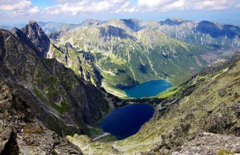 Tatrzańskie szlaki: na Rysy (od strony polskiej)