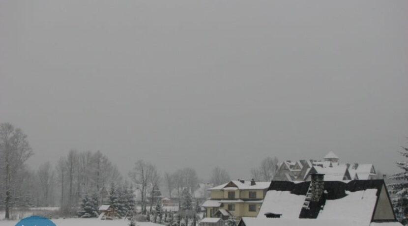 W Zakopanem spadł śnieg, jest już biało!