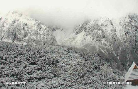 Tatry w śniegu – wreszcie zima? (ZDJĘCIA)