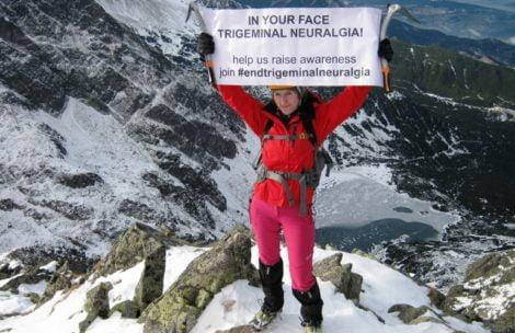 Walczy z chorobą poprzez góry, tworzy grupę wsparcia dla innych