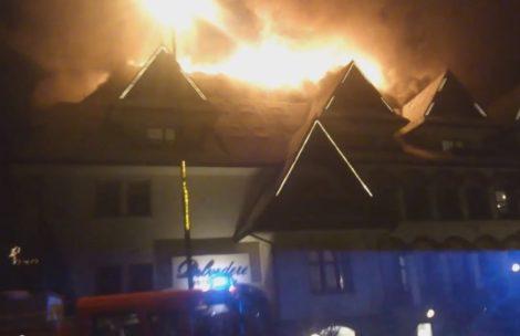 Pożar w Hotelu Belvedere w Zakopanem (film)