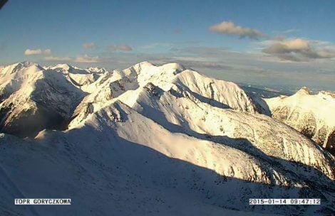 Piękna pogoda w Tatrach – słonecznie i ciepło