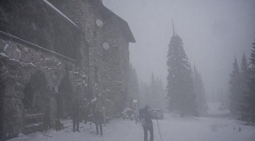 Śnieg, mgła, zawierucha. Hala Gąsienicowa inaczej