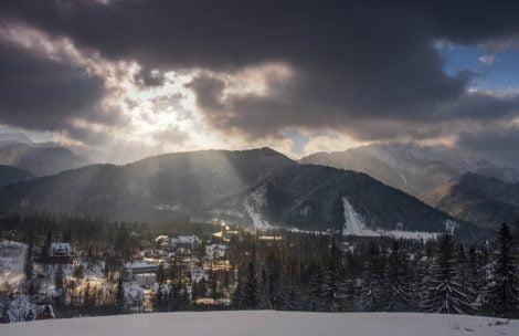 Piękne światło nad Tatrami (ZDJĘCIA)