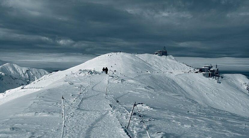 Felix w Tatrach, na Kasprowym nawet 140 km/h