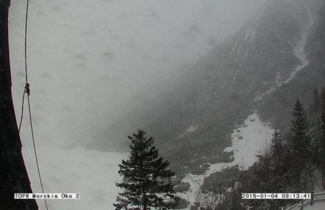 Drugi stopień zagrożenia lawinowego w Tatrach