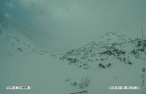 Turyści zabłądzili w Tatrach, dwie akcje TOPR