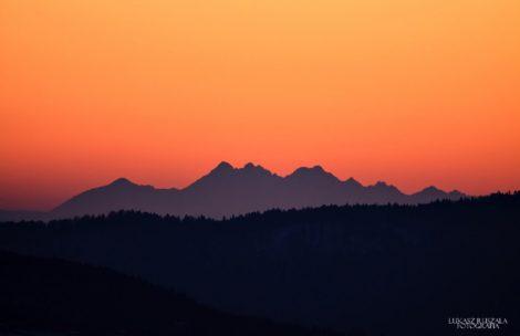 Świetna przejrzystość powietrza! Tatry widziane spod Rzeszowa (ZDJĘCIA)