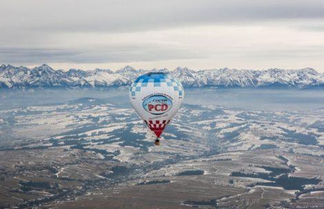 Balonem nad Tatrami