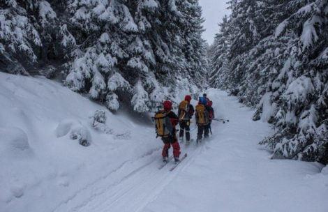Polscy ski-alpiniści ratowani w Tatrach Słowackich