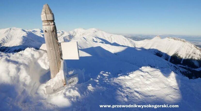 Kolejny piękny dzień, na Kasprowym 160 cm śniegu
