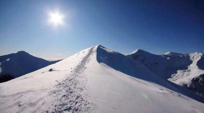 Starorobociański Wierch zimą (film)