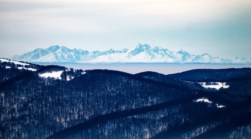 Widok na Tatry z Bieszczadów – 19.02.2015