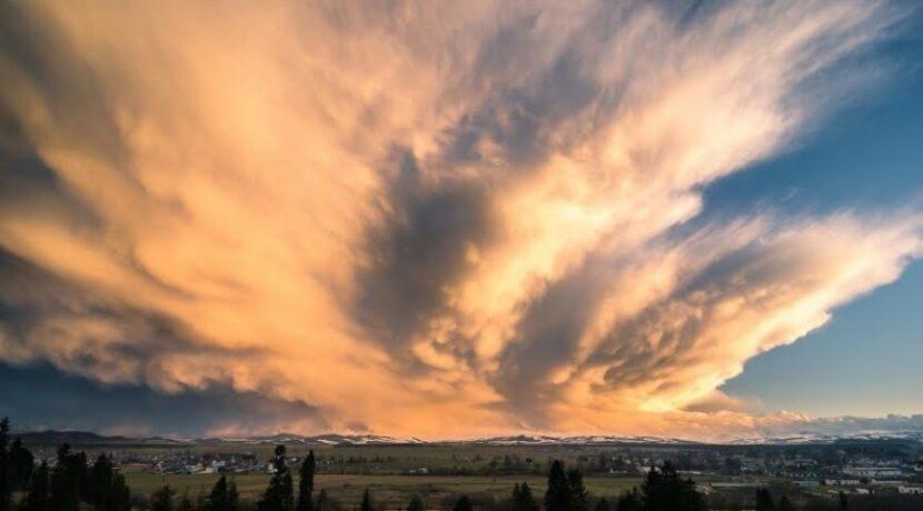 Armagedon nad Podhalem! Niesamowite chmury na zdjęciach