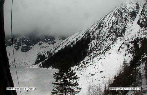 W Tatry wraca zima! Śnieg i spadki temperatury