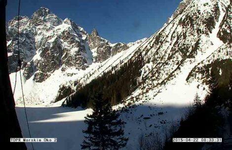 Piękna pogoda w Tatrach, wracają słoneczne dni!