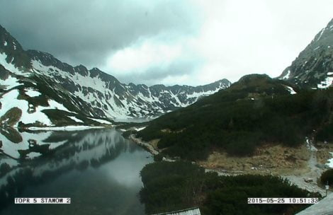 W Tatrach mokro i ślisko, niektóre szlaki podtopione
