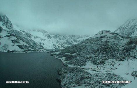 W Tatrach spadł śnieg!