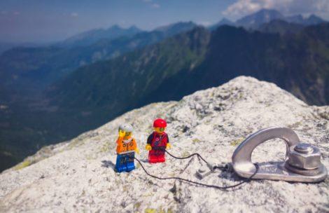 Chłopaki z Lego wrócili w Tatry! (ZDJĘCIA)