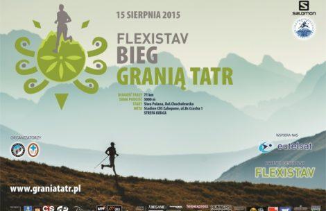 Morderczy Bieg Granią Tatr 2015 – zobacz trasę
