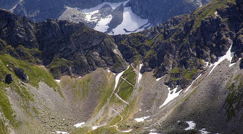 Szlak na Szpiglasową Przełęcz uszkodzony