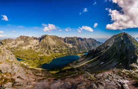 Panorama 360° ze Szpiglasowego Wierchu