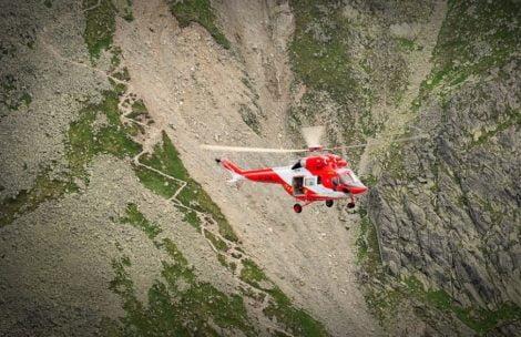Akcja ratunkowa w Tatrach, turystka spadła z okolic Krzyżnego