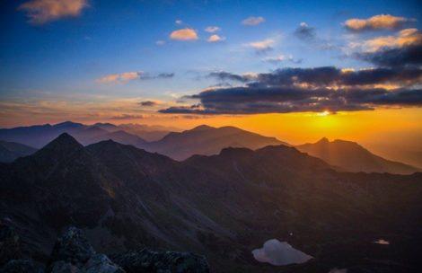 Zachód słońca na Kościelcu (ZDJĘCIA)