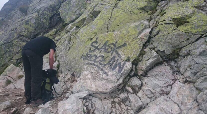 Chamstwo przyszło nawet w góry, czyli akty wandalizmu w Tatrach
