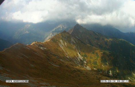 W Tatrach halny, wieje prawie 100 km/h
