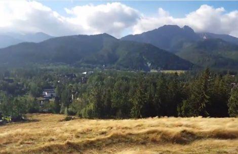 W Tatrach i Zakopanem szaleje halny! Zobacz dzisiejsze nagranie