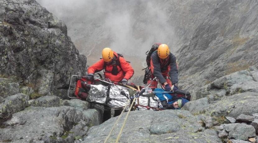Groźny wypadek polskiego taternika w Tatrach Słowackich