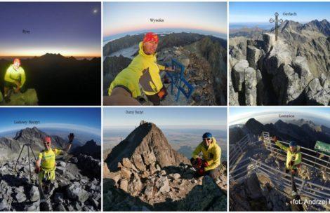 6 szczytów Wielkiej Korony Tatr w jeden dzień!