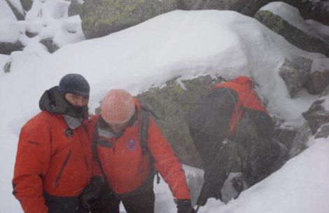 Turyści utknęli w Tatrach. Nocą zaskoczyło ich załamanie pogody