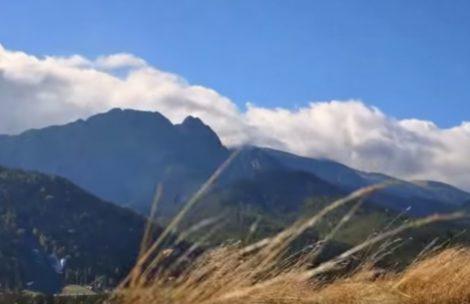 W Tatrach halny, idzie zmiana pogody (FILM)