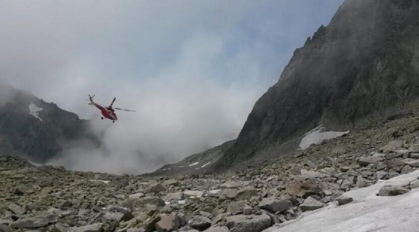 Dwóch wspinaczy zginęło w Tatrach Słowackich. Wypadek przewodnika górskiego