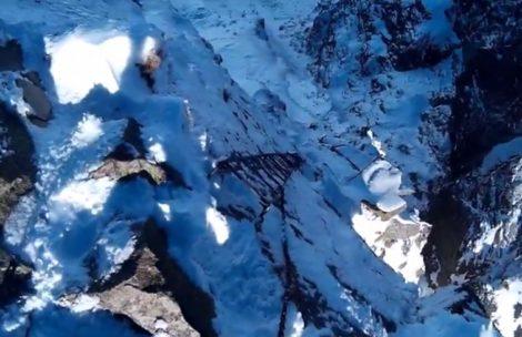 Orla Perć w warunkach zimowych, 24.10.2015 (FILM)