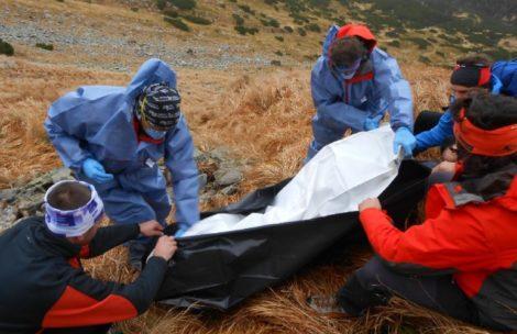 W Tatrach znaleziono zwłoki turysty