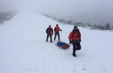 Wypadek polskiej skialpinistki w Tatrach Słowackich